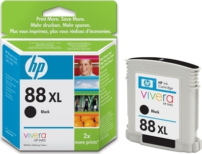Bilde HP Blekkpatron Sort 88XL (58 ml) C9396AE