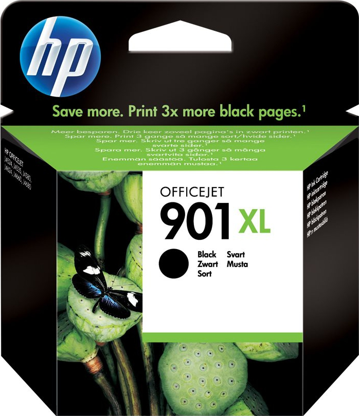 Bilde HP Blekkpatron No.901XL Sort