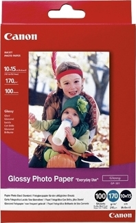 Bilde Canon Papir GP-501 10x15cm Photo Paper Glossy Everyday Use 170g (100 stk)