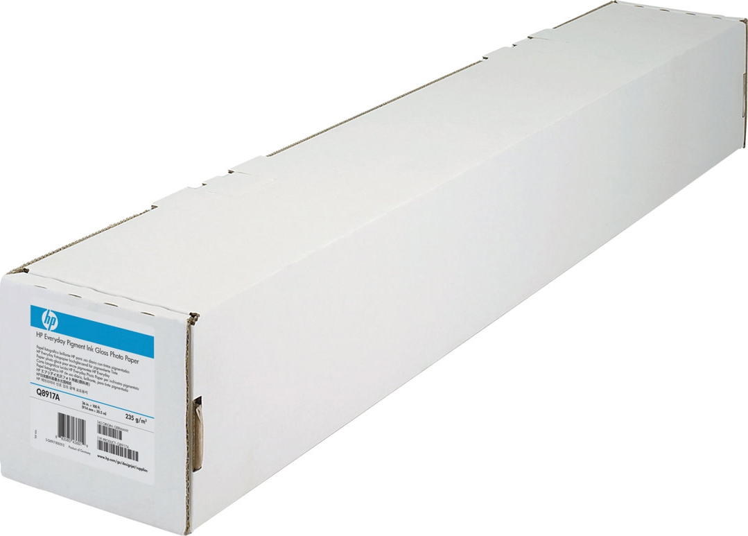 "Bilde HP Papir Rull 24"" (610mm) Heavyweight Coated Paper 132g 30m"
