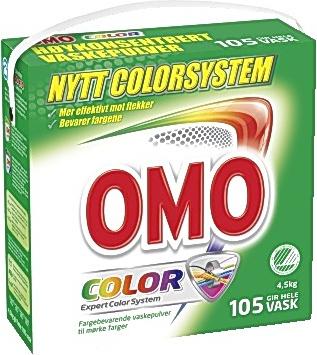 1bf78426 Tøyvask Omo Color 4,5kg