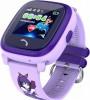 Vanntett GPS klokke til barn med innebygd GPS - LILLA