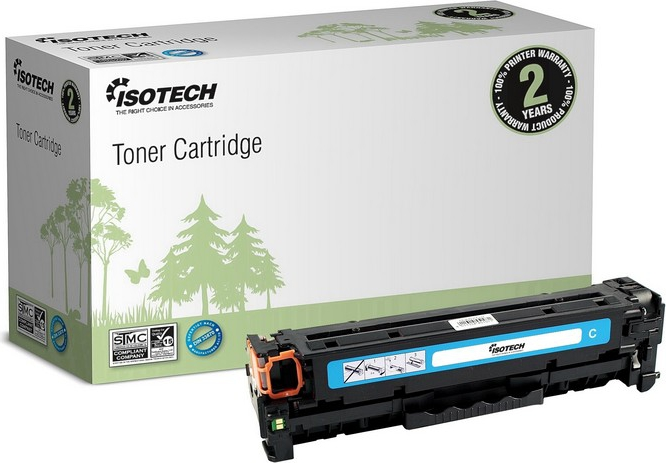 Bilde ISOTECH Cyan Toner Cartridge Replaces: CLT-C6092S Nordic Swan Certified