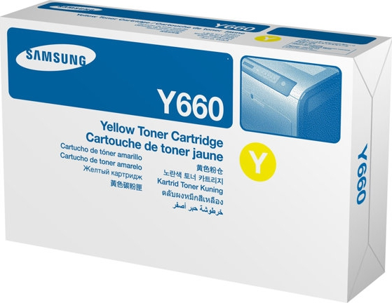 Bilde SAMSUNG CLP-Y660B High Yield Yellow Tone